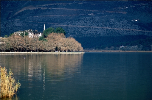 "When you visit Ioannina don't miss to take the boat to the small island of the Lake Pamvotida, which is the one and only ""anonymous"" island in the middle of a lake in Greece"